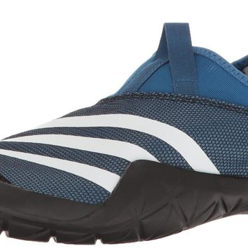 Adidas Outdoor Men's Climacool Jawpaw Slip-on Water Shoe Core Blue/White/Black 10 D(M)