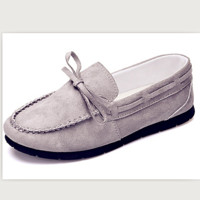 Doug shoes with flats lazy loafers Grey