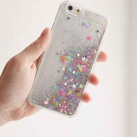 UO Custom Shake Me Glitter iPhone 6 Case