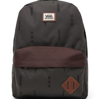 Vans Old Skool II School Backpack - Mens Backpacks - Green - NOSZ