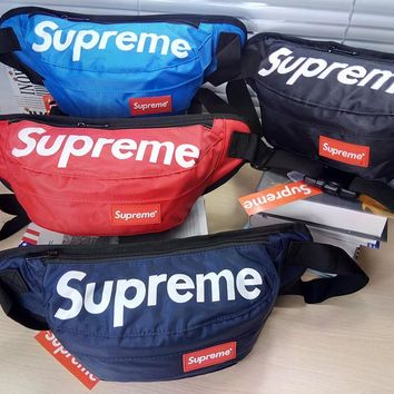 Canvas Supreme Crossboy Shoulder Chest Bag