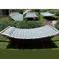 New Luxury Pillowtop Double Spreader Hammock Pillow Top Cushioned