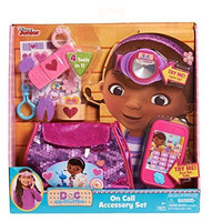 Doc McStuffins on Call Accessory Set Disney 7 Pcs Headlamp Cell Phone 3