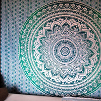 Mandala Tapestry/ mandala Throw