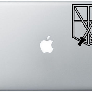 Trainee Macbook Decal Anime Vinyl Sticker Laptop Windows Shingeki No Kyojin ( Attack On Titan)