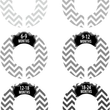 Pink Baby Closet Dividers Via Delightfullynoted