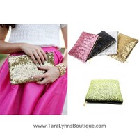 Sequin Clutch Purses