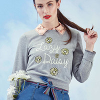 Lovely Lollygagging Sweatshirt | Mod Retro Vintage Sweaters | ModCloth.com