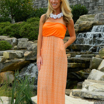 The Fourth and Long Maxi Dress