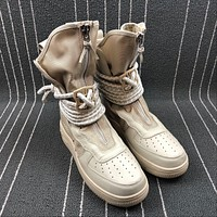 The New Nike SF Air Force 1 High Winding Shoelaces Boots