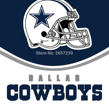 You're in Dallas Cowboys Country flag 3x5FT NFL banner 100D 150X90CM Polyester brass grommets custom66, Free Shipping