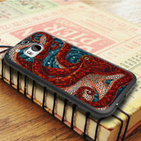 Octopus Animal Monster HTC One M8 Case