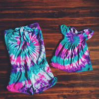 Mommy & Me - Romper and Baby Dress