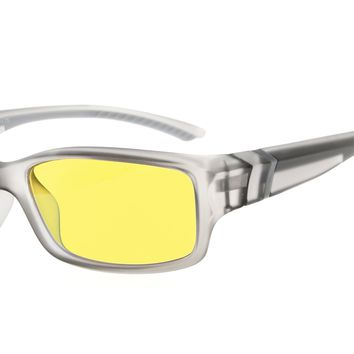 Eyekepper Anti Blue Light More than 94% Computer Glasses, Anti-glare, Anti-reflective, Anti-fatigue, UV and Computer/TV Electromagnetic Radiation Protection, Anti-fog, Scratch Resistant, Yellow Tinted Lens Eyeglasses