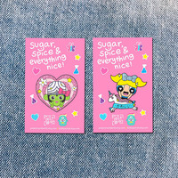 Bubbles and Mojojojo Enamel Lapel Pins