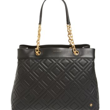 Tory Burch Lousia Lambskin Leather Tote | Nordstrom
