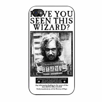 Sirius Black Wanted Poster iPhone 4/4s Case
