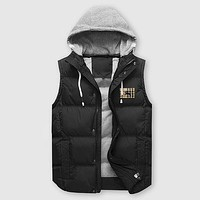 Boys & Men Burberry Fashion Down Vest Cardigan Jacket Coat Hoodie