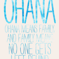 OHANA Stretched Canvas by Sara Eshak | Society6