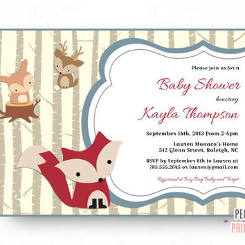 Best woodland baby shower invites products on wanelo woodland baby shower invites woodland baby shower invitation baby boy shower invitation printable filmwisefo Images