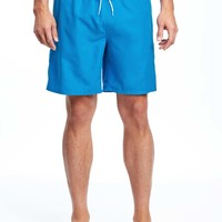 "Americana Swim Trunks for Men (8"") 