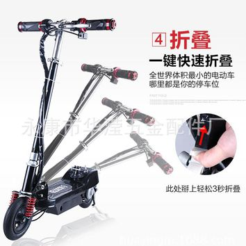 Smart electric scooters bike mini intelligent electric folding bicycle instead of walking electric bicycle fold motorcycle