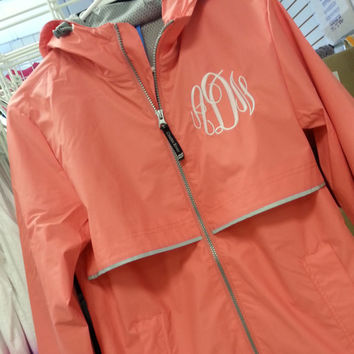 Best Monogrammed Rain Jacket Products on Wanelo
