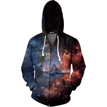 Double Realm Zip Up Hoodie