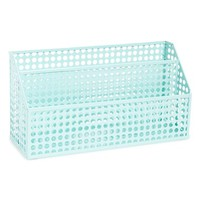 Design Ideas Perforated Metal Letter Bin - Green