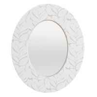 Vy La Calm Breezy Fern Oval Mirror