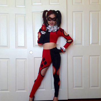 Harley Quinn Costume, DC Cosplay