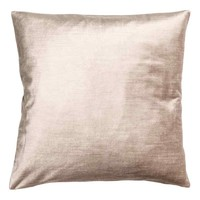 Velvet cushion cover - Light beige - Home All | H&M GB