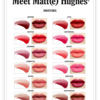 Meet Matt(e) Hughes® -- Long Lasting Liquid Lipstick