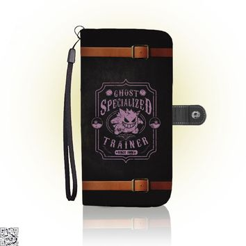 Ghost Specialized Trainer, Pokemon Wallet Case
