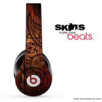 Tattooed Wood Skin for the Beats by Dre