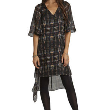 Frounce-Back Dress in Black - BCBGeneration