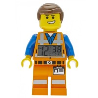 LEGO(R) Movie Emmet Minifigure Clock