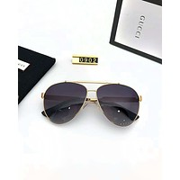 GUCCI 2019 new outdoor driving large frame polarized sunglasses #6