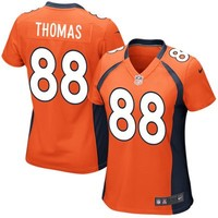 Nike Demaryius Thomas Denver Broncos Women's Game Jersey - Orange
