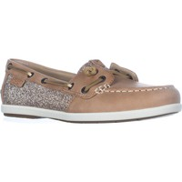 Sperry Top-Sider Coil Ivy Boat Shoes, Linen, 5 US / 35 EU