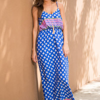 All's Swell Maxi Dress, Blue