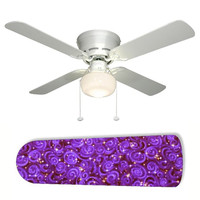 "Starry Night Star Stars Sky 42"" Ceiling Fan and Lamp"