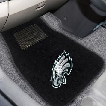 "NFL - Philadelphia Eagles 2-pc Embroidered Car Mats 18""x27"""