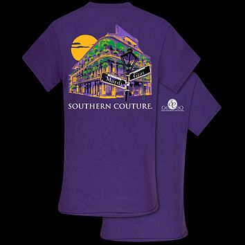 Southern Couture Classic Mardi Gras Hotel T-Shirt