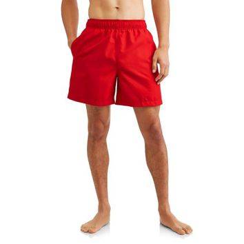 Men's and Men's Big Basic Swim Trunks, Up to Size 5XL - Walmart.com