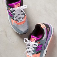 Sneakers by Anthropologie Purple Motif