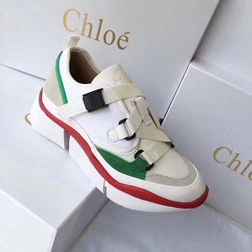 Chloe High shoe high and low running shoes