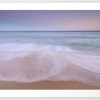 Looking at the waves....  Algarve beach by Guido Montañés