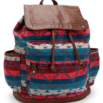 Southwestern Print Backpack