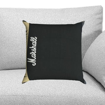 Marshall Amplifier Custom Pillow Case for One Side and Two Side